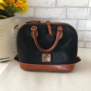 Dooney & Bourke Mini Satchel Bag Pebbled Leather